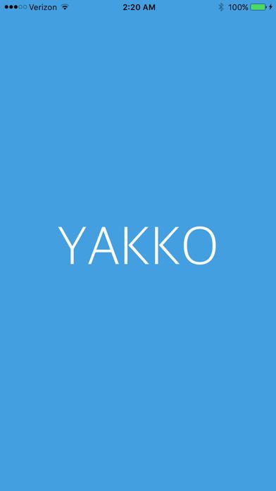 Yakko - Your Campus Message Board screenshot one