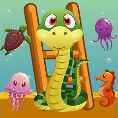 Snake and Ladder Heroes  Aquarium Free Game