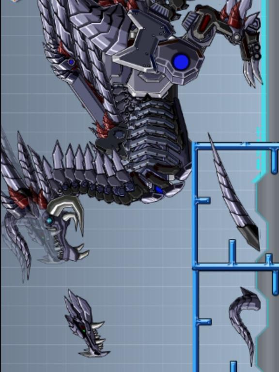 Robot Skeleton Dragon Assembleのおすすめ画像1