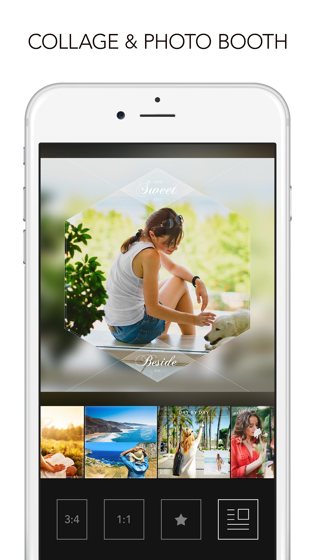 Rookie Cam - Photo Editor & Filter Camera Screenshot