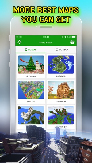 Best city maps for minecraft pe pocket edition on the app store best city maps for minecraft pe pocket edition on the app store gumiabroncs Choice Image
