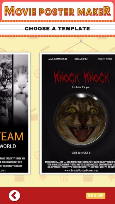 movie poster maker ポスターメーカーラボとデザイナー iphoneアプリ