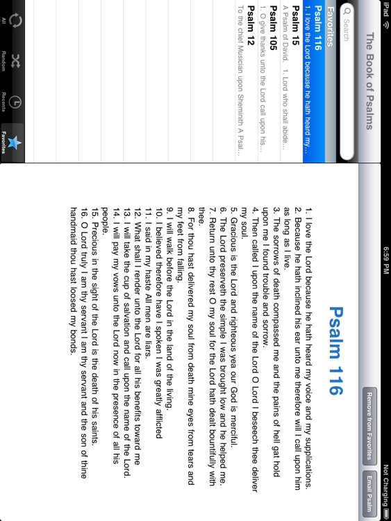The Book of Psalms for iPad screenshot-3