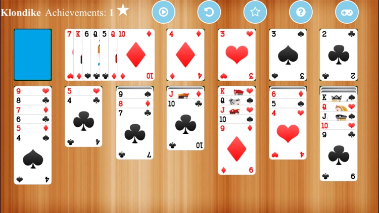 Klondike Solitaire - For iPhone and iPad screenshot-4