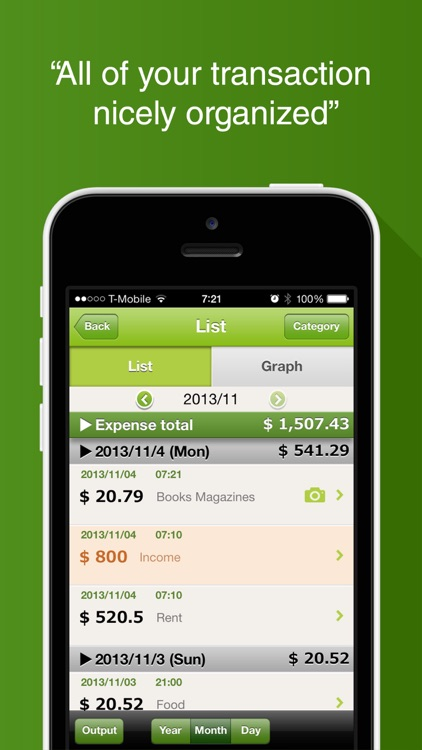 Quick Money Recorder: Expense screenshot-3