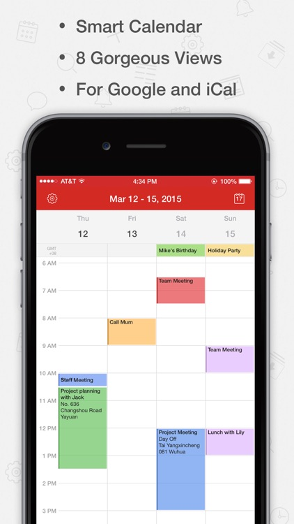 Tiny Calendar Pro - Sync with Google Calendar screenshot-0