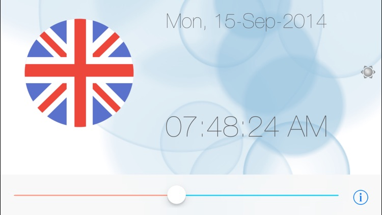 wClocks - world clock with time shift -