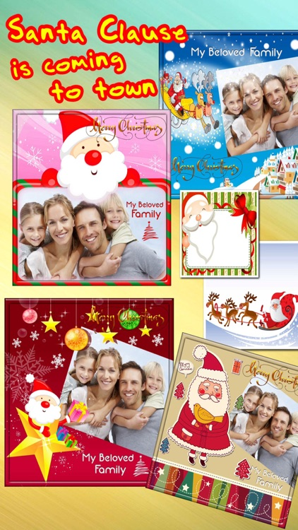 Lovely Christmas Frames Pro screenshot-3