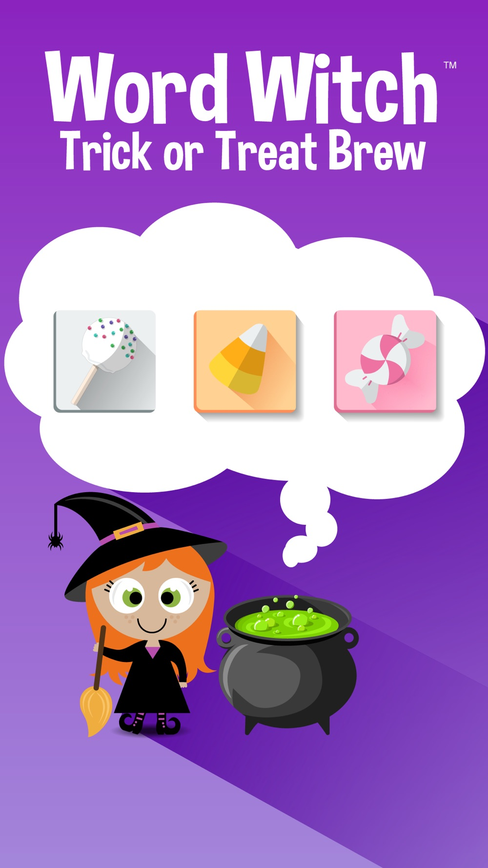 Word Witch: A Halloween Trick or Treat Search Game