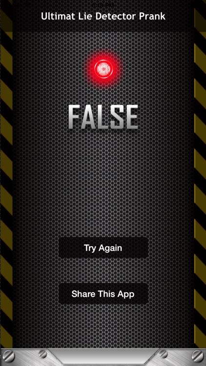 Ultimate Lie Detector Prank - Lie Detector screenshot-3