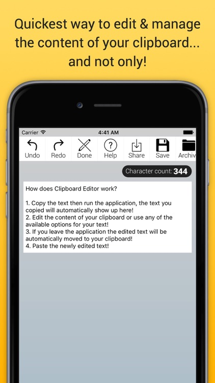 Clipboard Editor Pro - Edit, Manage, Store