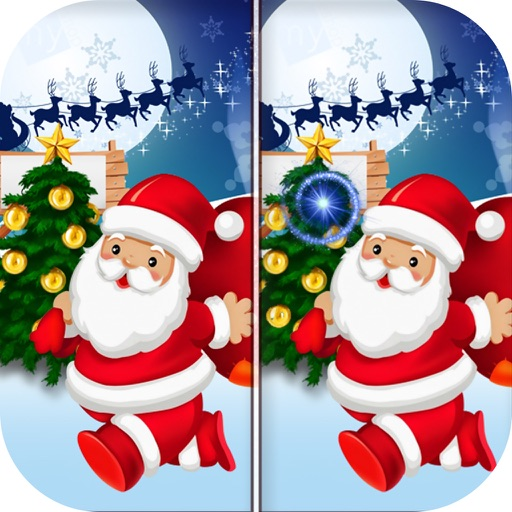 Christmas Find The Difference - Spot It