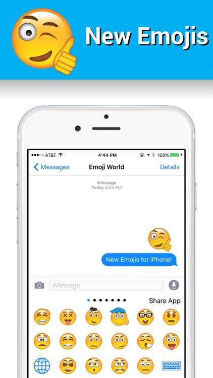 New Emojis Keyboard by Emoji World