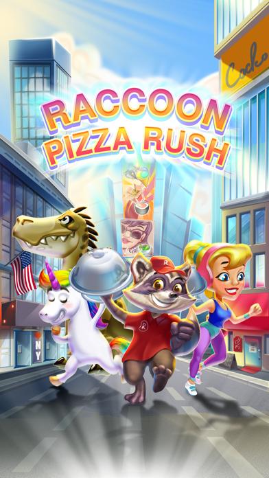 Raccoon Pizza Rushのおすすめ画像1