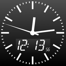 Atomic Clock PRO - The exact time digital or analog with your own background picture