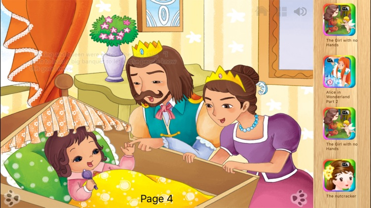 Sleeping Beauty - Interactive Fairy Tale iBigToy screenshot-4
