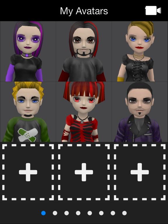 Screenshot #3 for My Talking Goth Lite