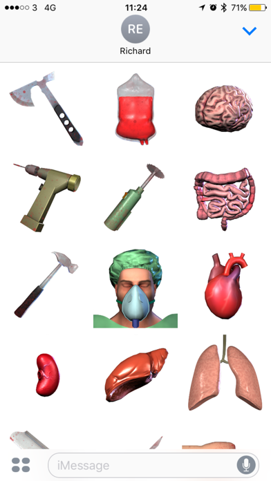 Surgeon Simulator Stickersのスクリーンショット2