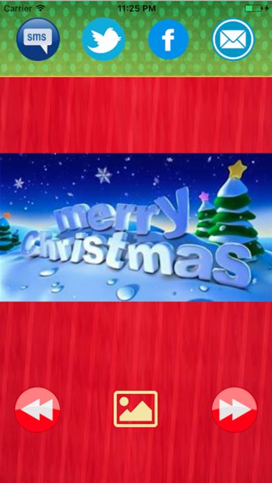 Greetings cards-Merry Christmas and New Year 2017のおすすめ画像2