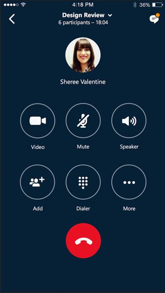 messages.download Skype Entreprise software