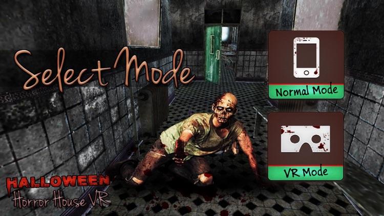 Halloween Horror House VR screenshot-4
