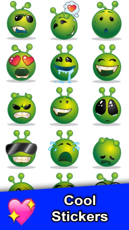 Emoji 3 FREE - Color Messages - New Emojis Emojis Sticker for SMS, Facebook, Twitter screenshot-3