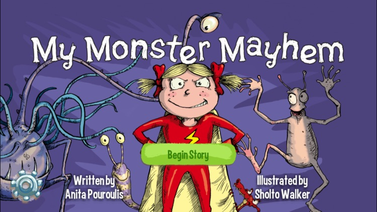 My Monster Mayhem Kids Bedtime Story & Best Ebook screenshot-0