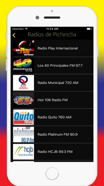 Radios Ecuador FM AM - Live Radio Stations Online