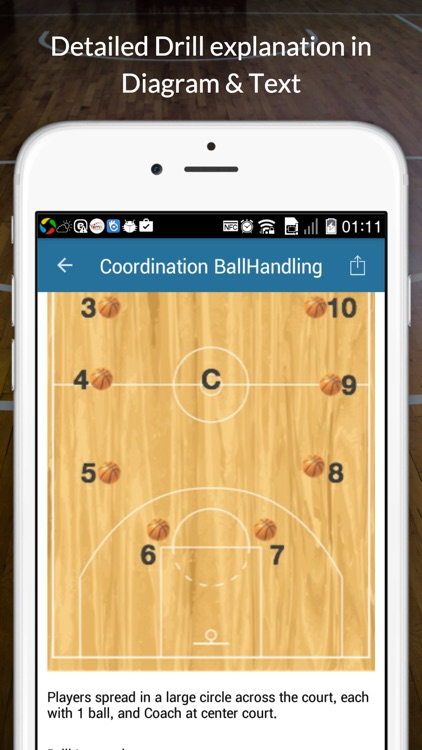 Basketball Dribbling Drills screenshot-1