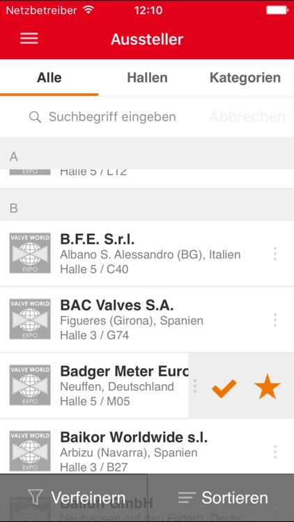 Valve World Expo App screenshot-3