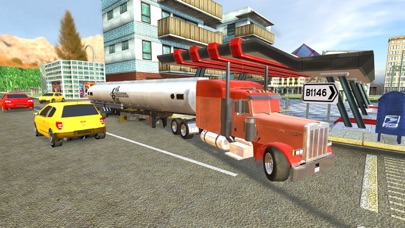 Uphill Cargo Truck Driving 3D - Drive Cargo Truck And Oil Tanker in Offroad & City Environment screenshot four