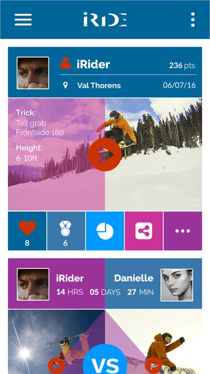 iRide Ski and Snowboard App V2