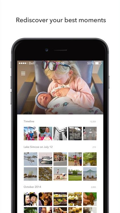 Shoebox - Photo Backup and Cloud Storage app image