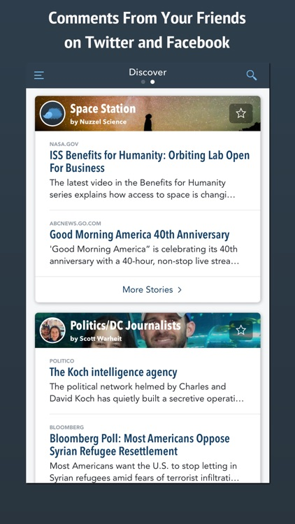 Nuzzel: News for Professionals screenshot-1