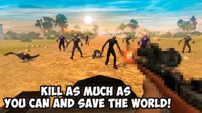 Zombie Hunting: Car Safari 3D Full screenshot four