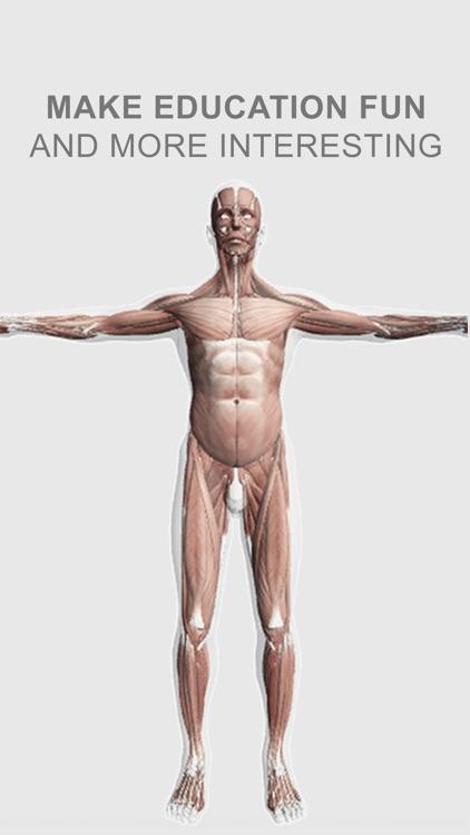 Explain 3D: Human body screenshot-3