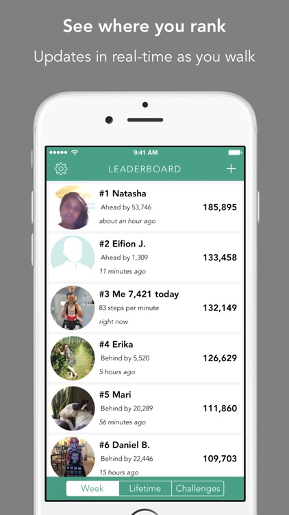 Leaderboard for Fitbit - Better fitness rankings