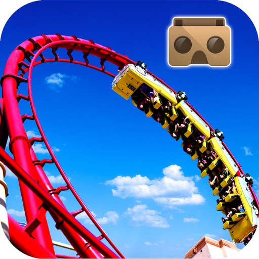 Roller Coaster VR - 3D HD Pro icon