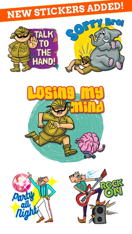 Tinkle Stickers