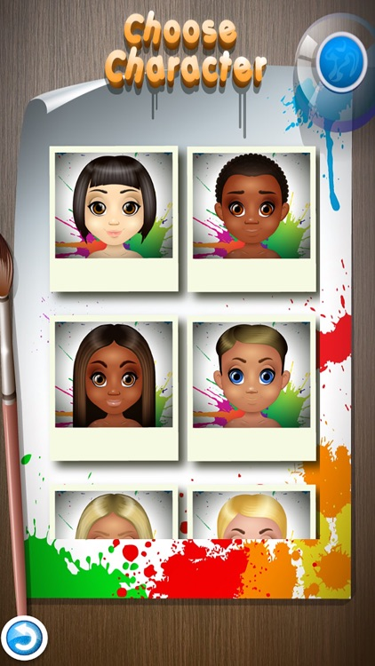 Kids Face Paint - Makeup & Spa Girls Salon Games screenshot-3