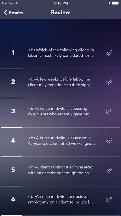 Certified Nurse-Midwife (CNM) Test Prep screenshot-4