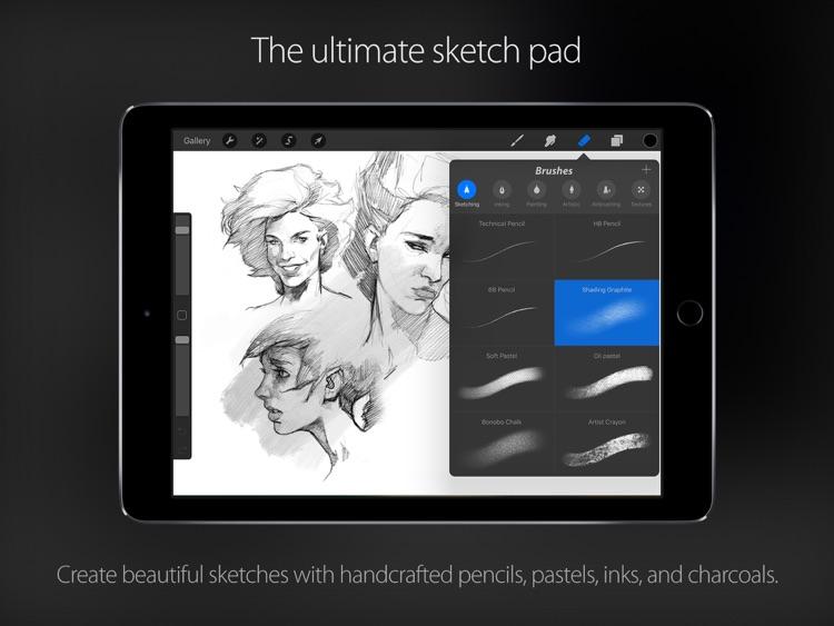 Procreate – Sketch, paint, create. screenshot-4