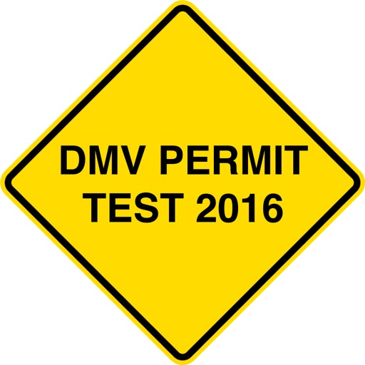 DMV Permit Test 2016 - Practice Exams for Every State! icon