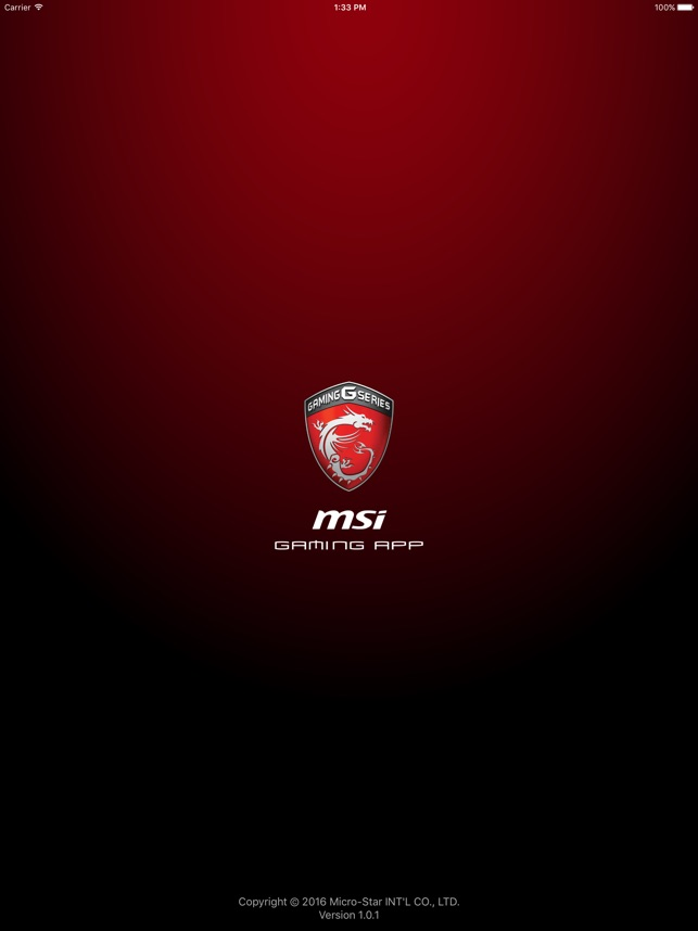 MSI GAMING APP on the App Store