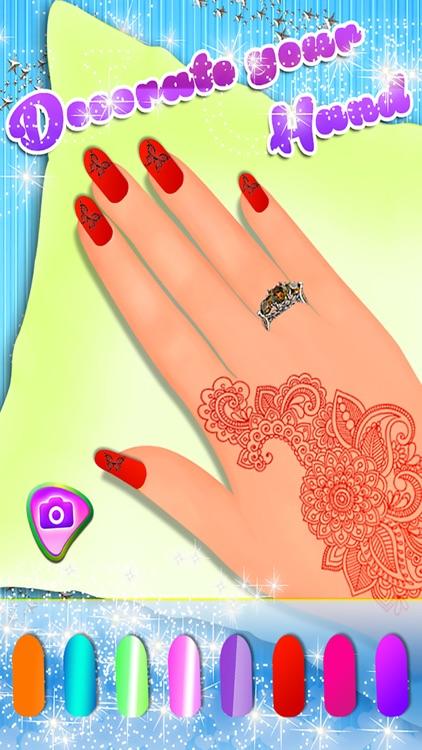 Nail Salon -Girl Make up Makeover Dress up Fashion screenshot-3
