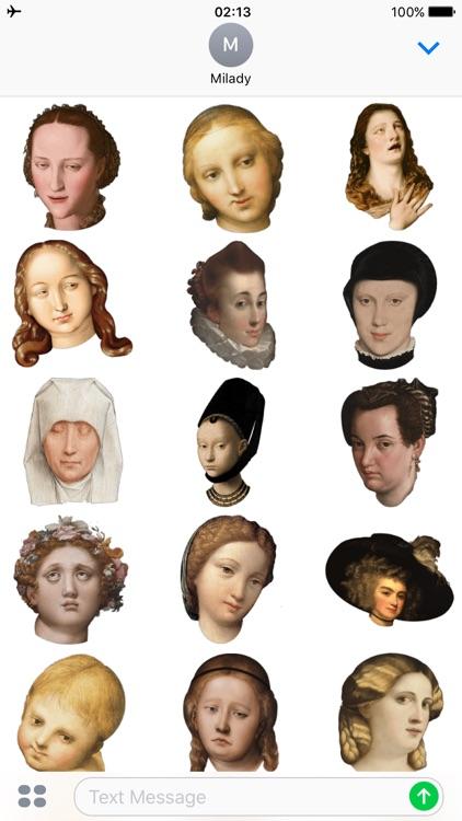 Milady - Renaissance Art Troll screenshot-3