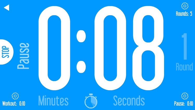 Basic Sports Timer: Countdown, Interval & BoxDrill screenshot-4