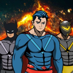 Create Your Own Man SuperHero - Comics Book Character Dress Up Game for Kids & Boys