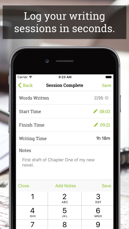 Wordly - Effortless Word And Time Tracking For Writers