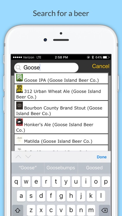 BeerSwift: Faster & Offline Check-Ins for Untappd screenshot-1